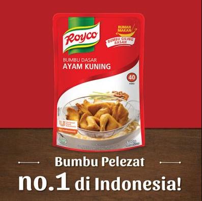 Royco Bumbu Dasar Ayam Kuning 1kg Toko Indonesia
