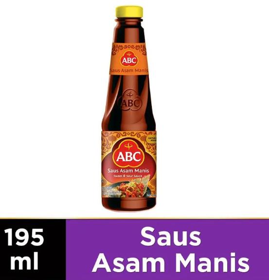 ABC Saus Asam Manis Sweet Sour Sauce 195ml   Toko Indonesia